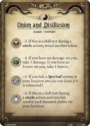 Union and Disillusion